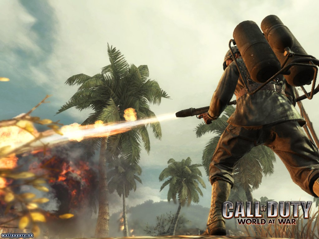 Papel de Parede Gratuito de Jogos : Call of Duty V - World at War