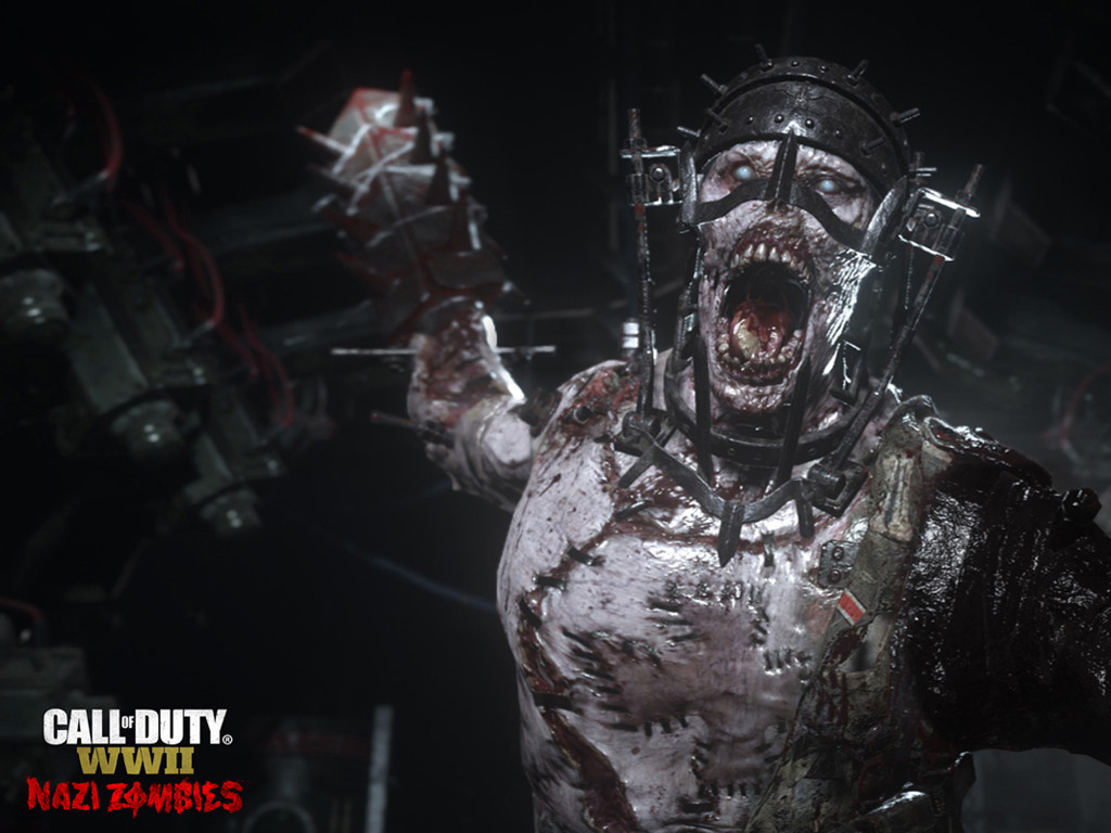 Games Wallpaper: Call of Duty WWII - Nazi Zombies