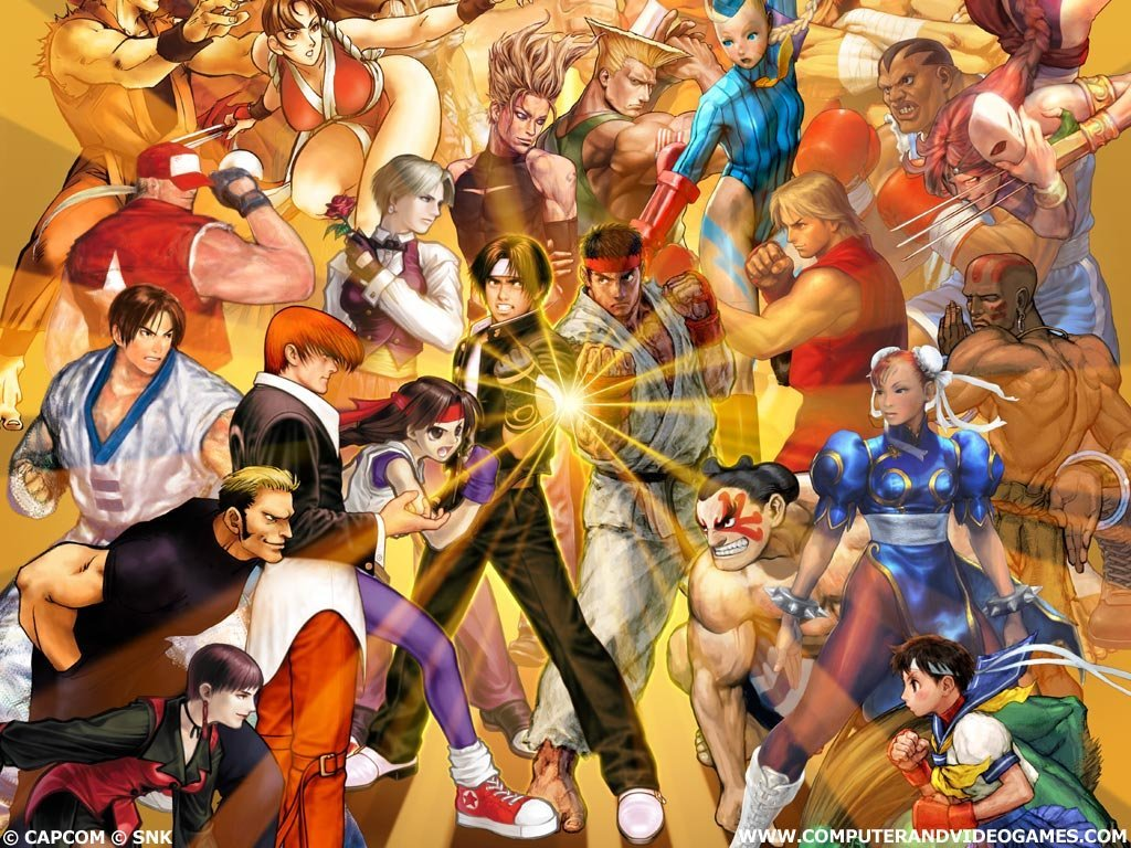 Games Wallpaper: Capcom vs SNK