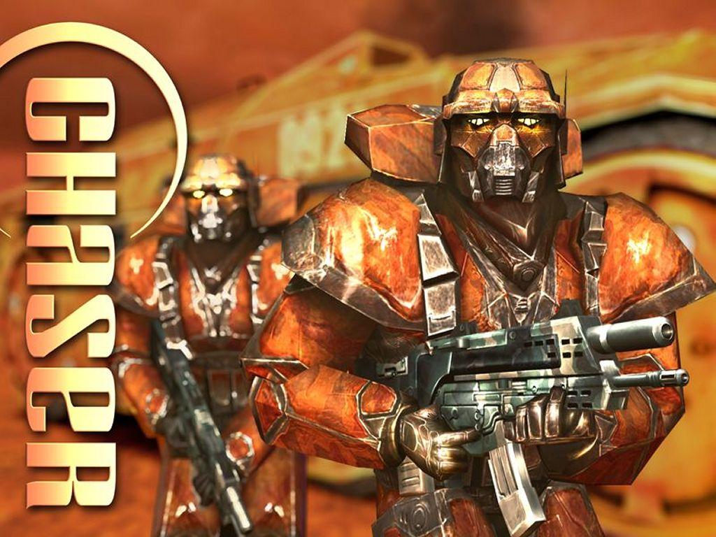 Games Wallpaper: Chaser - Mars