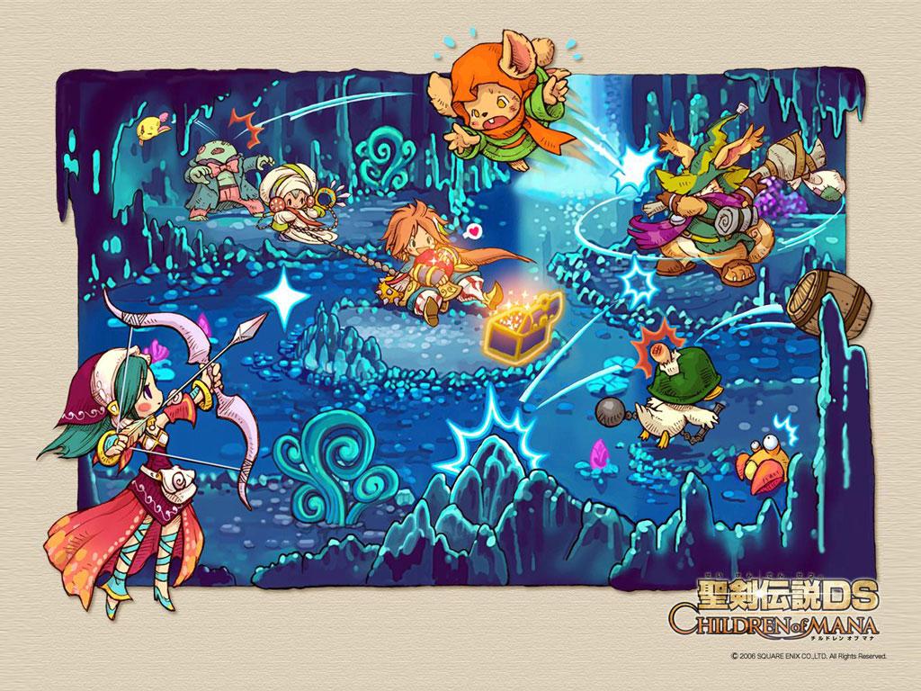 Games Wallpaper: Children of Mana