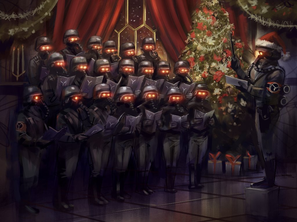 Games Wallpaper: Killzone 3 - Helghast Christmas