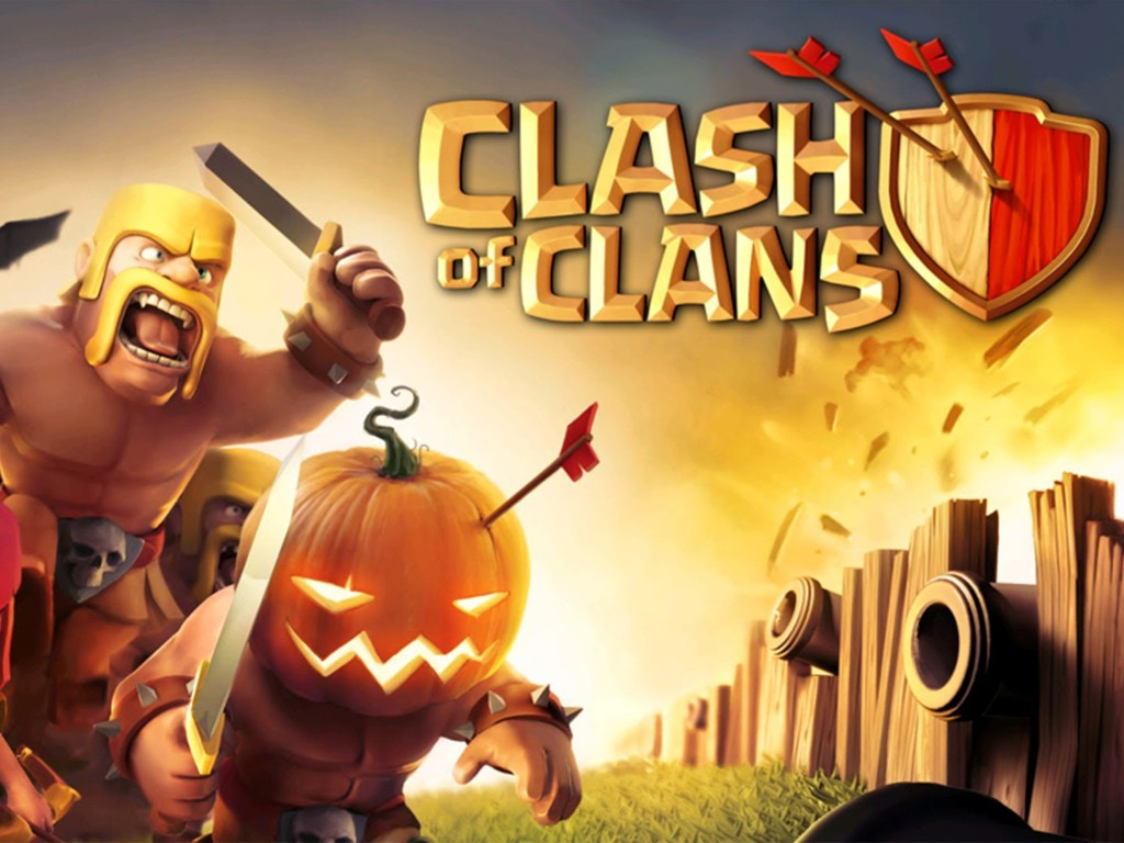 Games Wallpaper: Clash of Clans - Halloween
