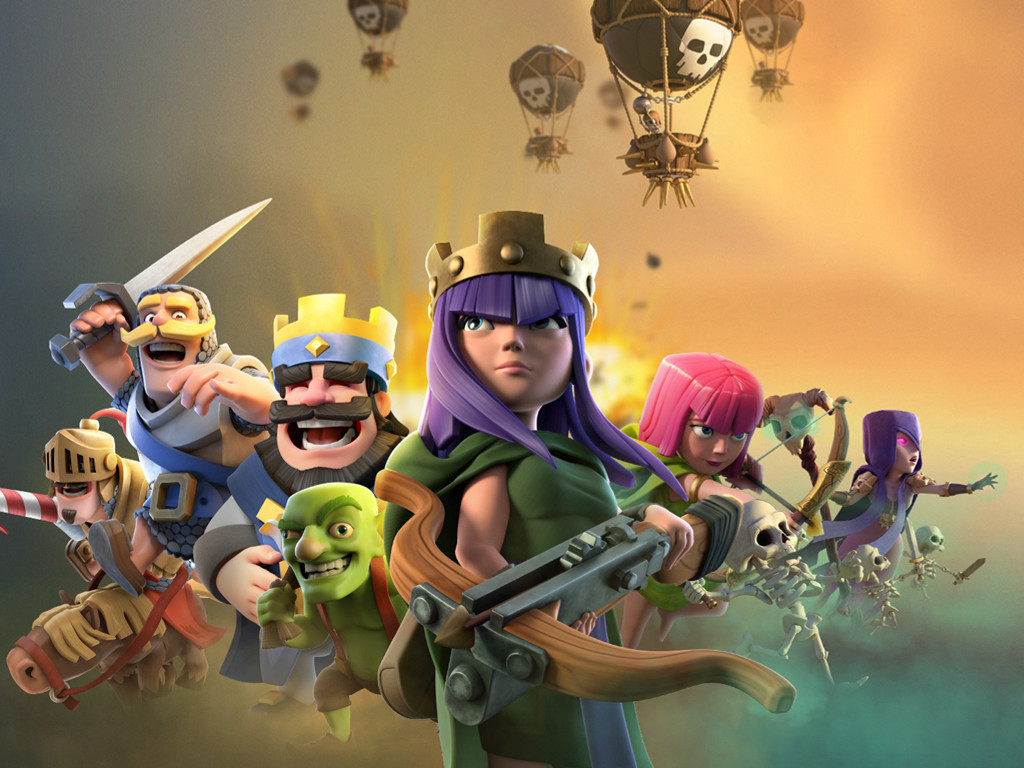 Games Wallpaper: Clash Royale