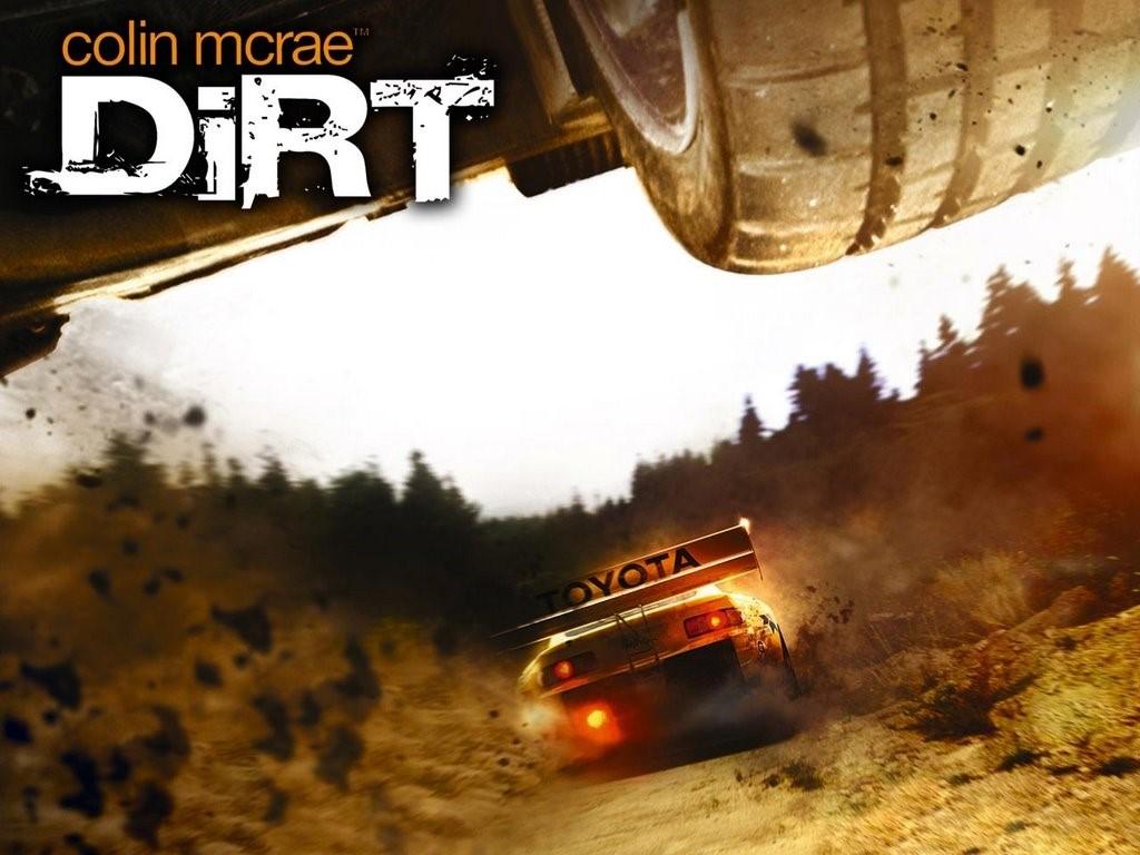 Games Wallpaper: Colin McRae - DiRT