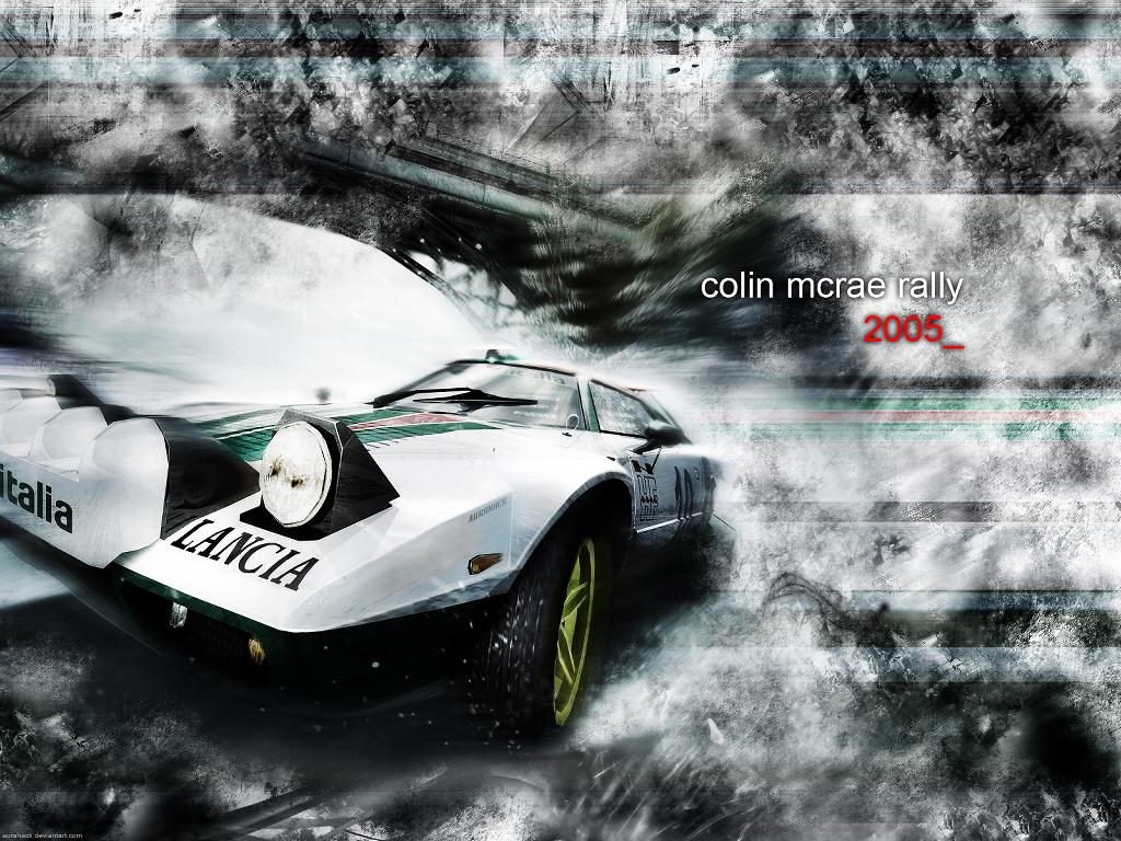 Games Wallpaper: Colin McRae Rally 2005