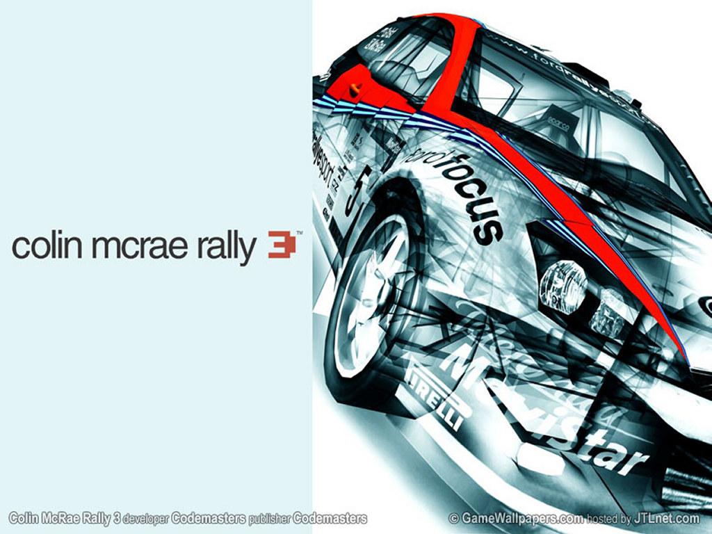 Games Wallpaper: Colin Mcrae Rally 3