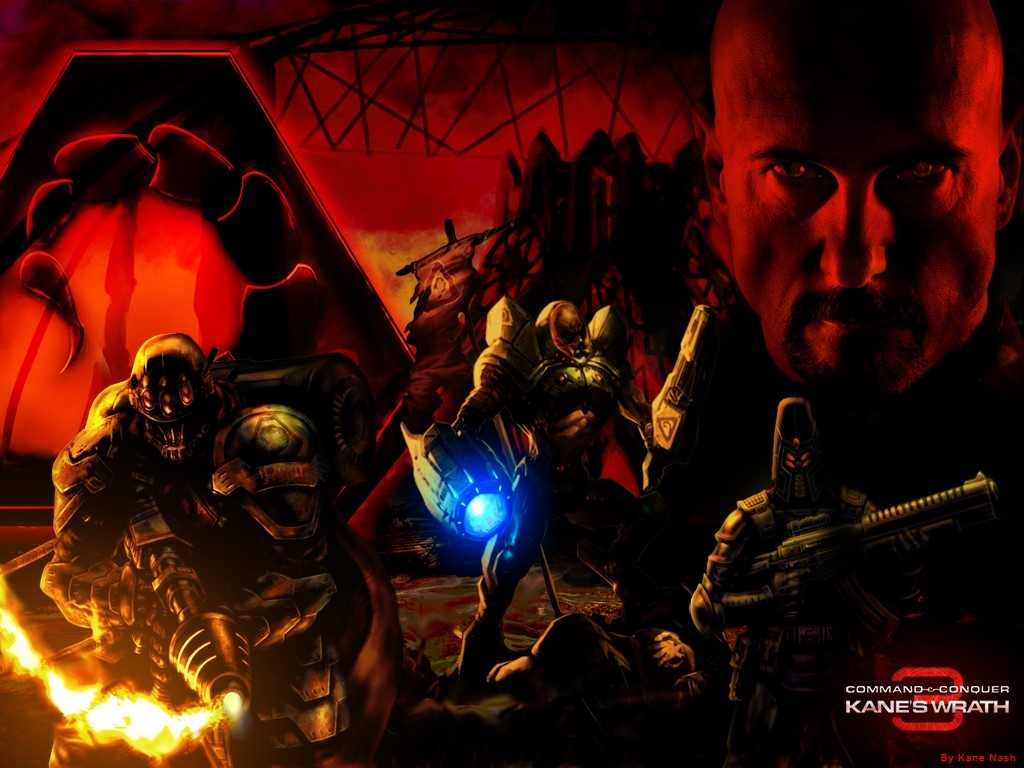 Games Wallpaper: Command and Conquer 3 - Kane's Wrath
