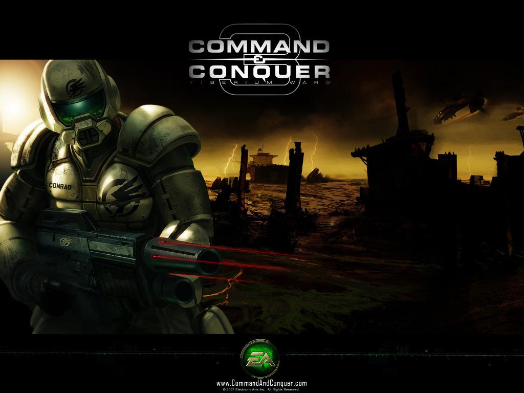 Games Wallpaper: Command and Conquer - Tiberium Wars