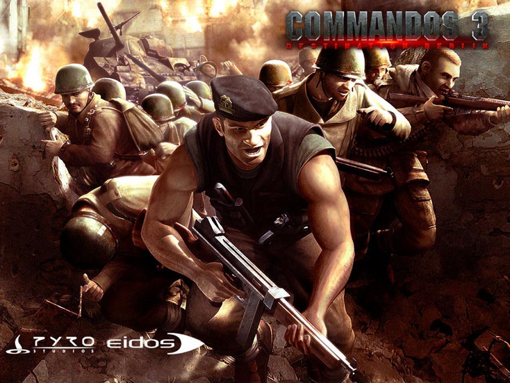 Games Wallpaper: Commandos 3 - Destination Berlin
