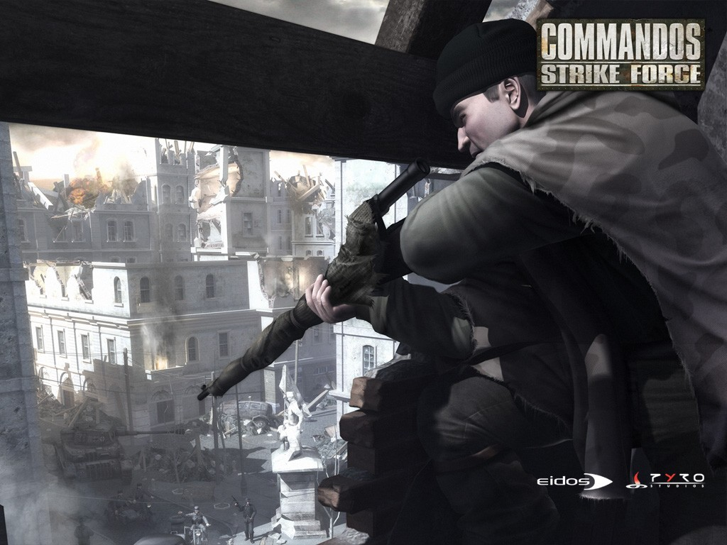 Games Wallpaper: Commandos Strike Force