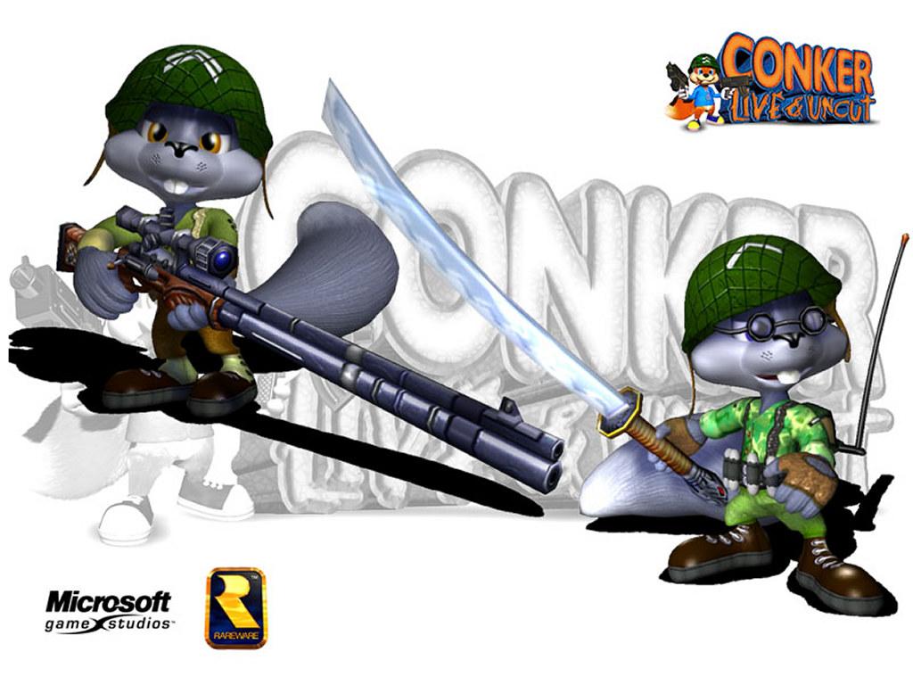 Games Wallpaper: Conker Live & Uncut