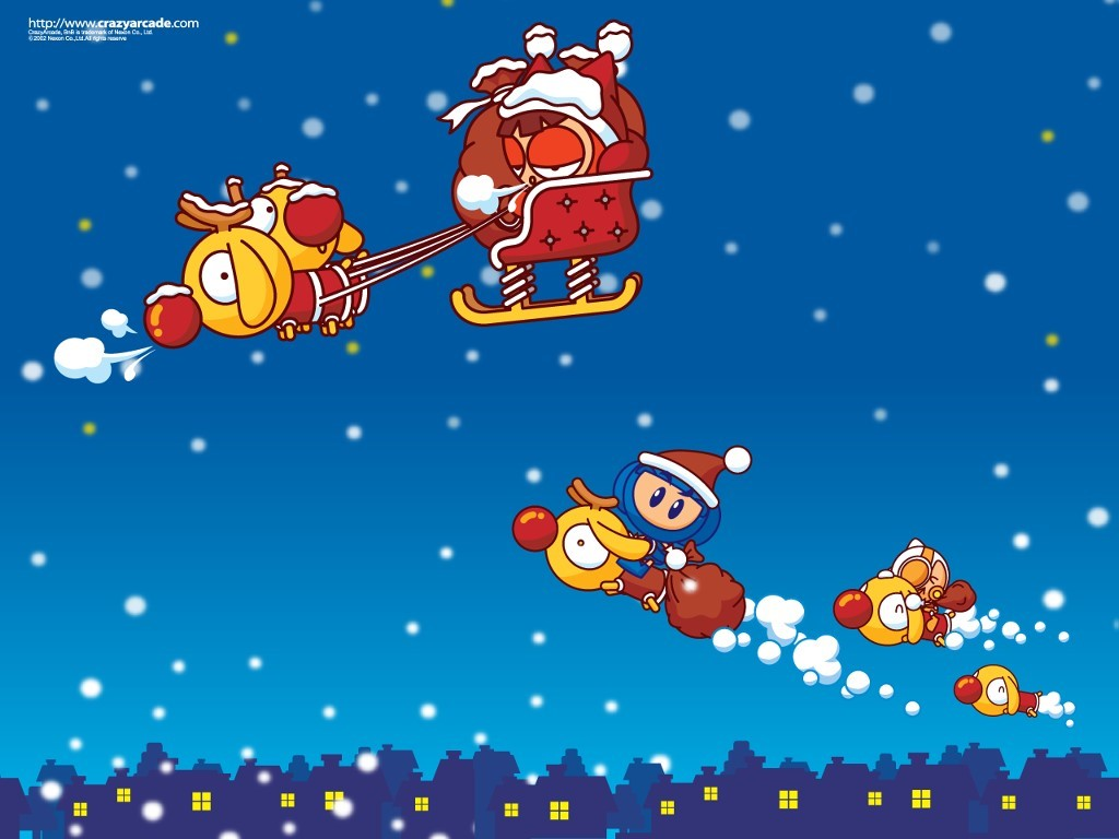 Games Wallpaper: Crazy Arcade - Christmas