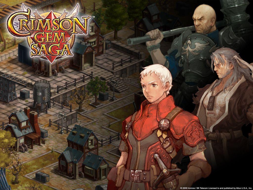 Games Wallpaper: Crimson Gem Saga