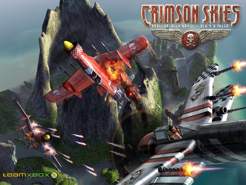 Games Wallpaper: Crimson Skies