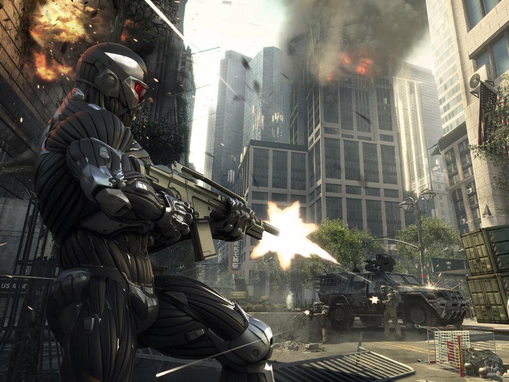 Games Wallpaper: Crysis 2