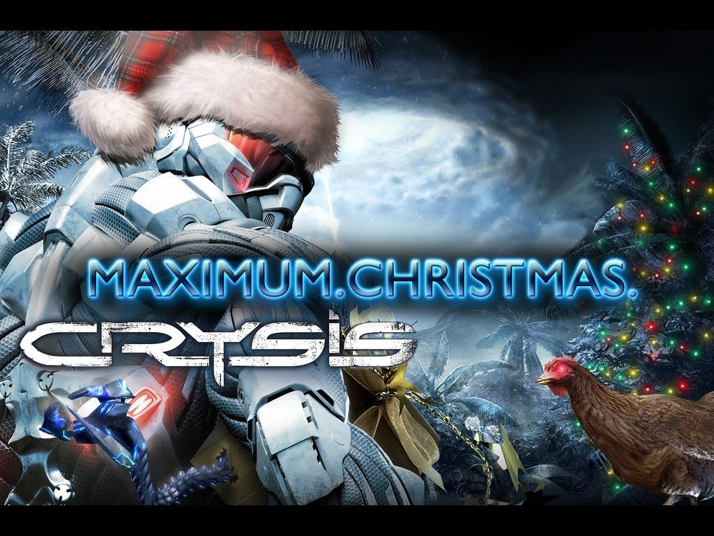Games Wallpaper: Crysis - Maximum Christmas