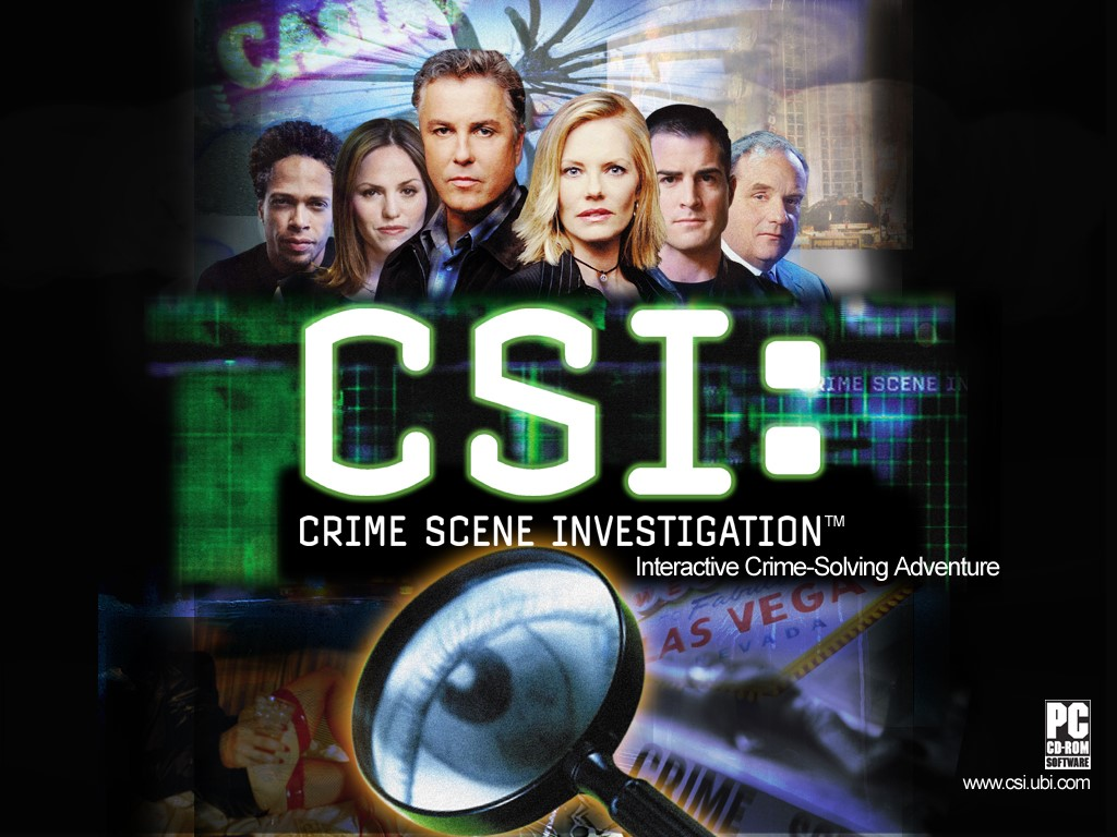 Games Wallpaper: CSI - The Game