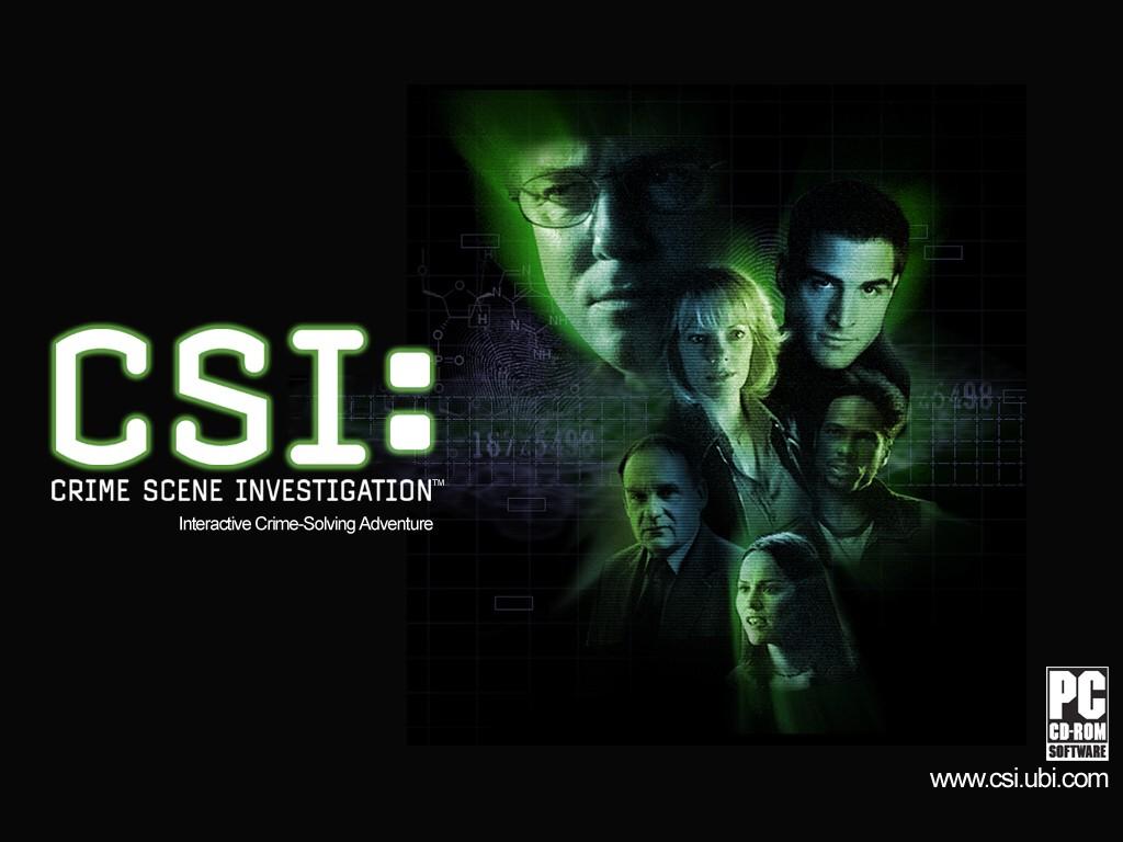 Games Wallpaper: CSI - Game