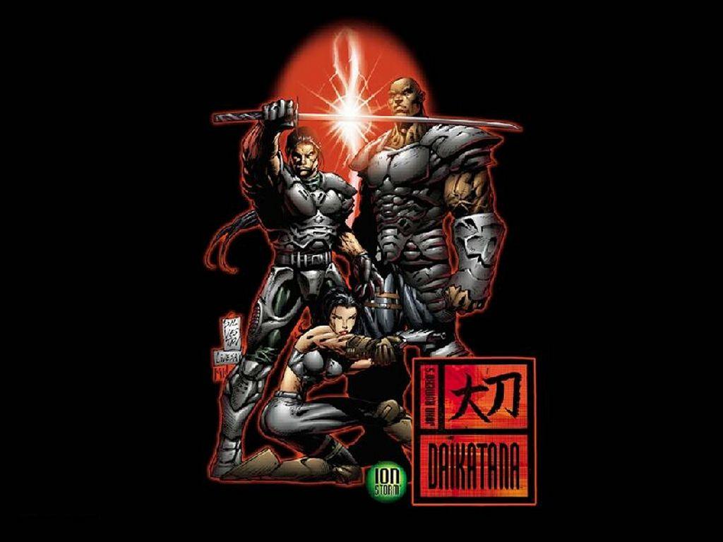 Games Wallpaper: Daikatana - Team