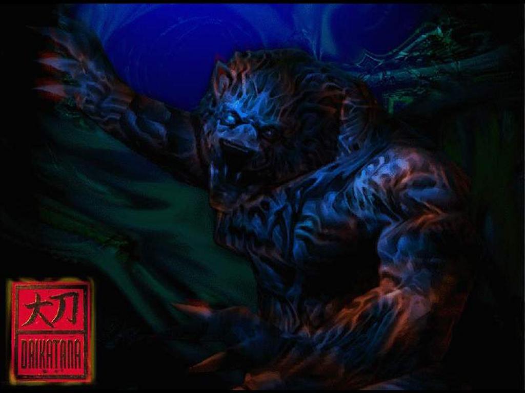 Games Wallpaper: Daikatana - Monster