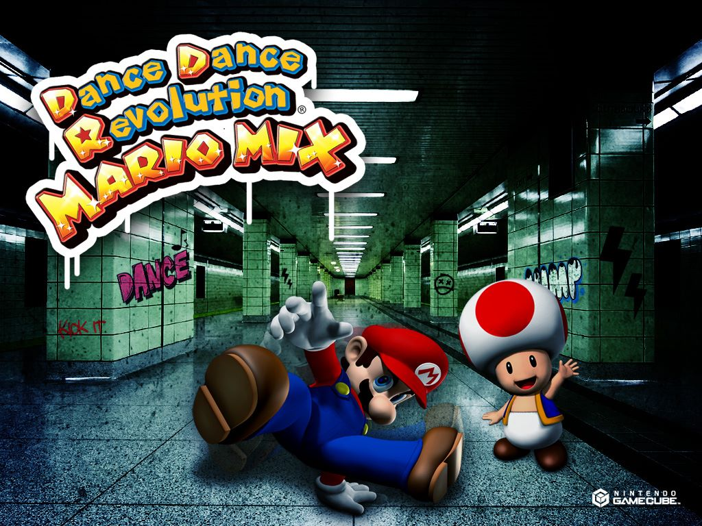 Games Wallpaper: Dance Dance Revolution Mario Mix