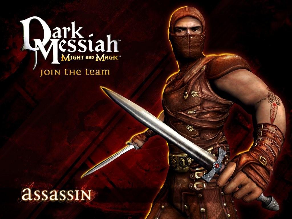 Papel de Parede Gratuito de Jogos : Dark Messiah of Might and Magic - Assassino