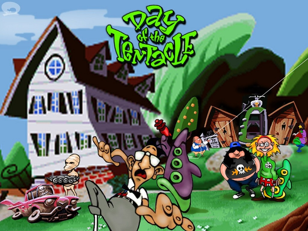 Games Wallpaper: Day of the Tentacle