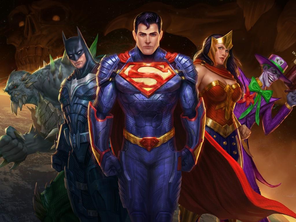 Papel de Parede Gratuito de Jogos : DC Legends