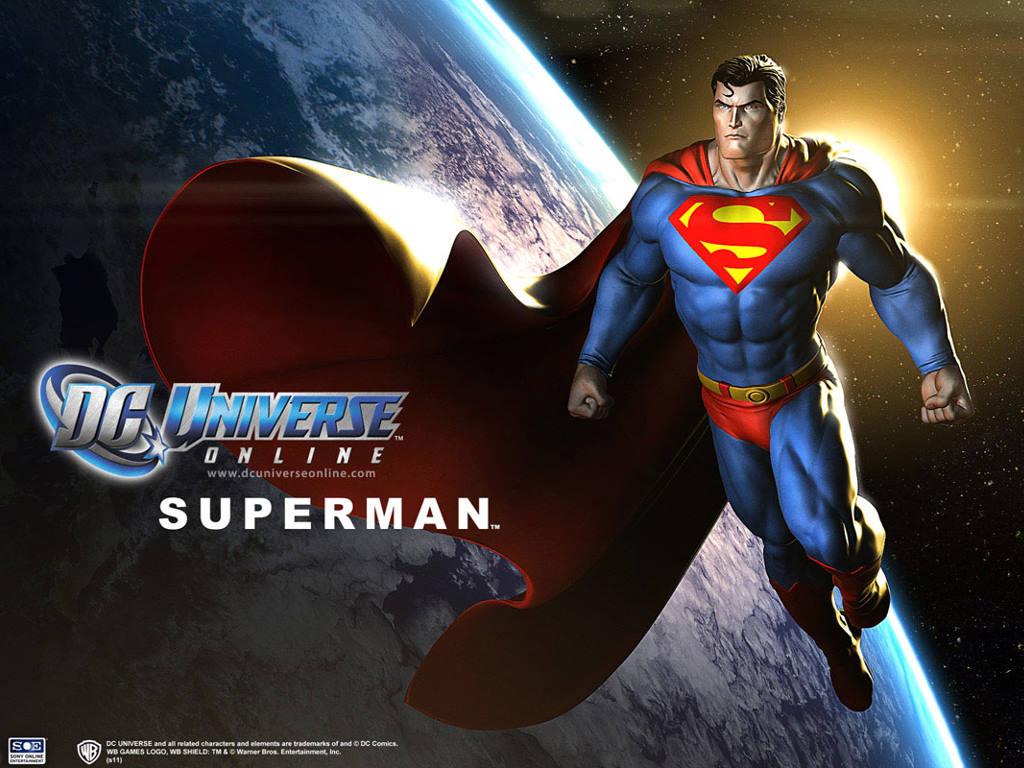 Games Wallpaper: DC Universe Online - Superman