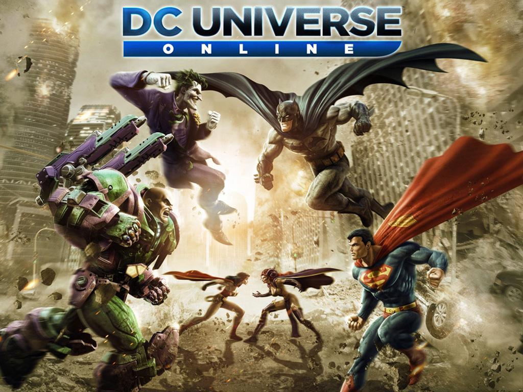 Games Wallpaper: DC Universe Online