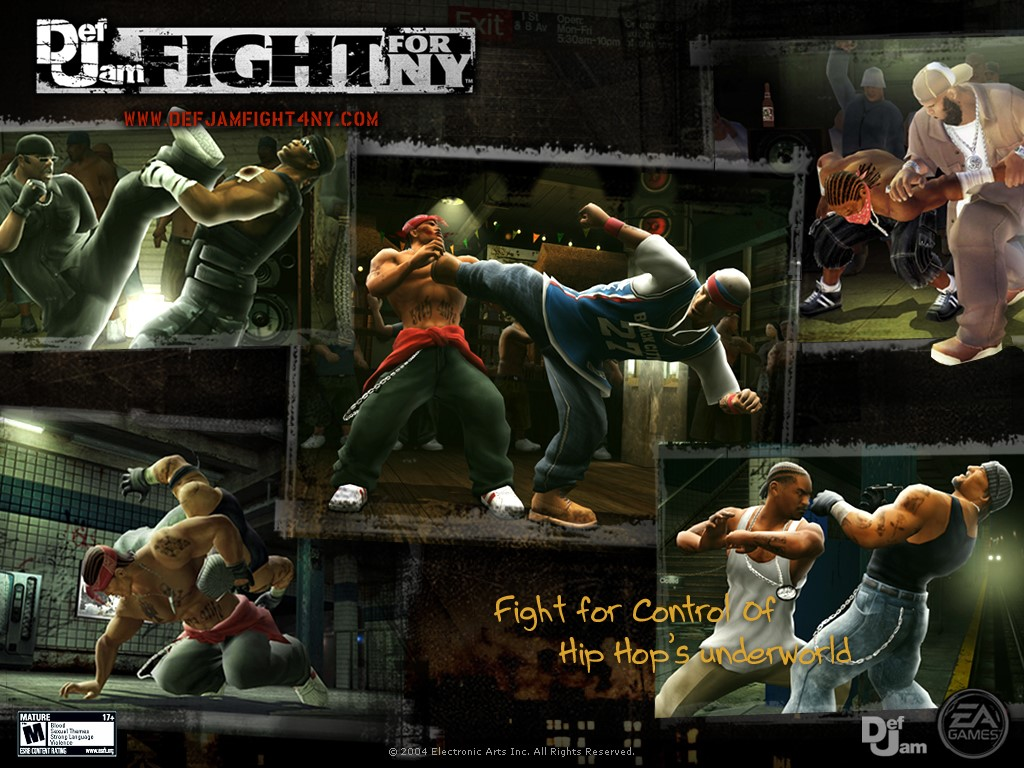 Games Wallpaper: Def Jam - Fight for NY