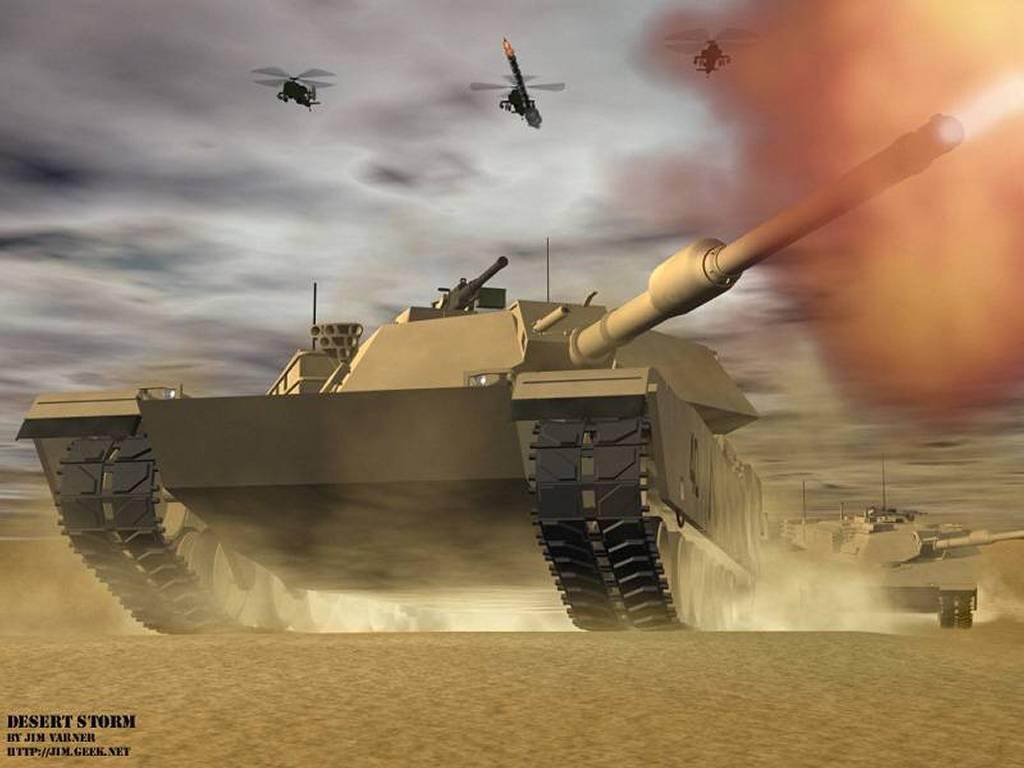 Games Wallpaper: Desert Storm