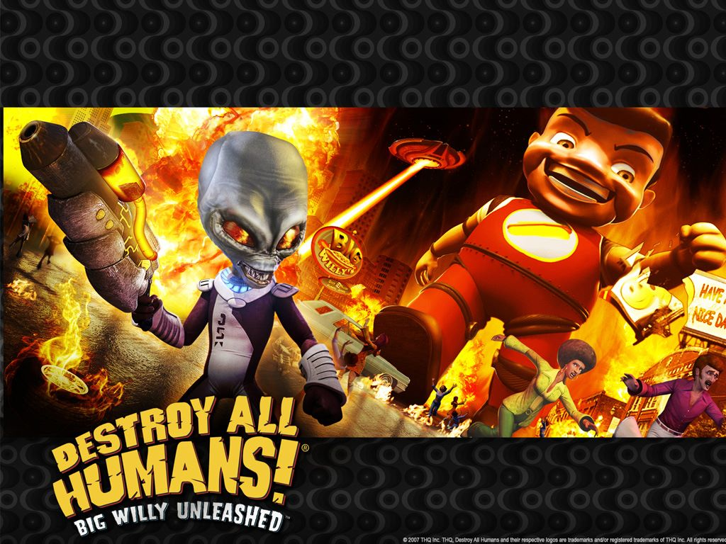 Games Wallpaper: Destroy All Humans