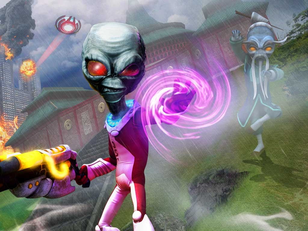 Games Wallpaper: Destroy All Humans - Path of the Furon