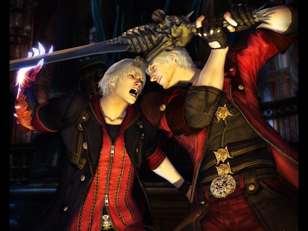 Games Wallpaper: Devil May Cry 4
