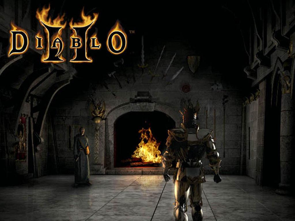Games Wallpaper: Diablo 2 - Paladin