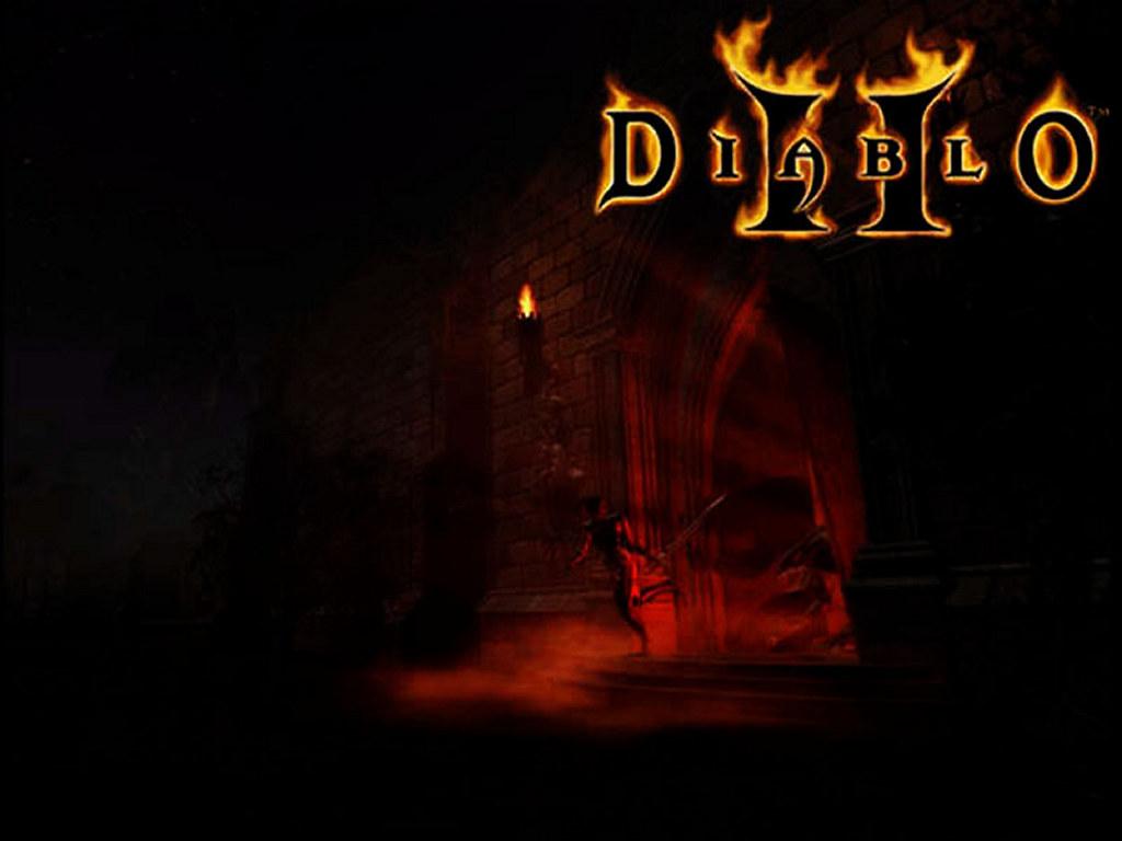 Games Wallpaper: Diablo 2 - Catacombs