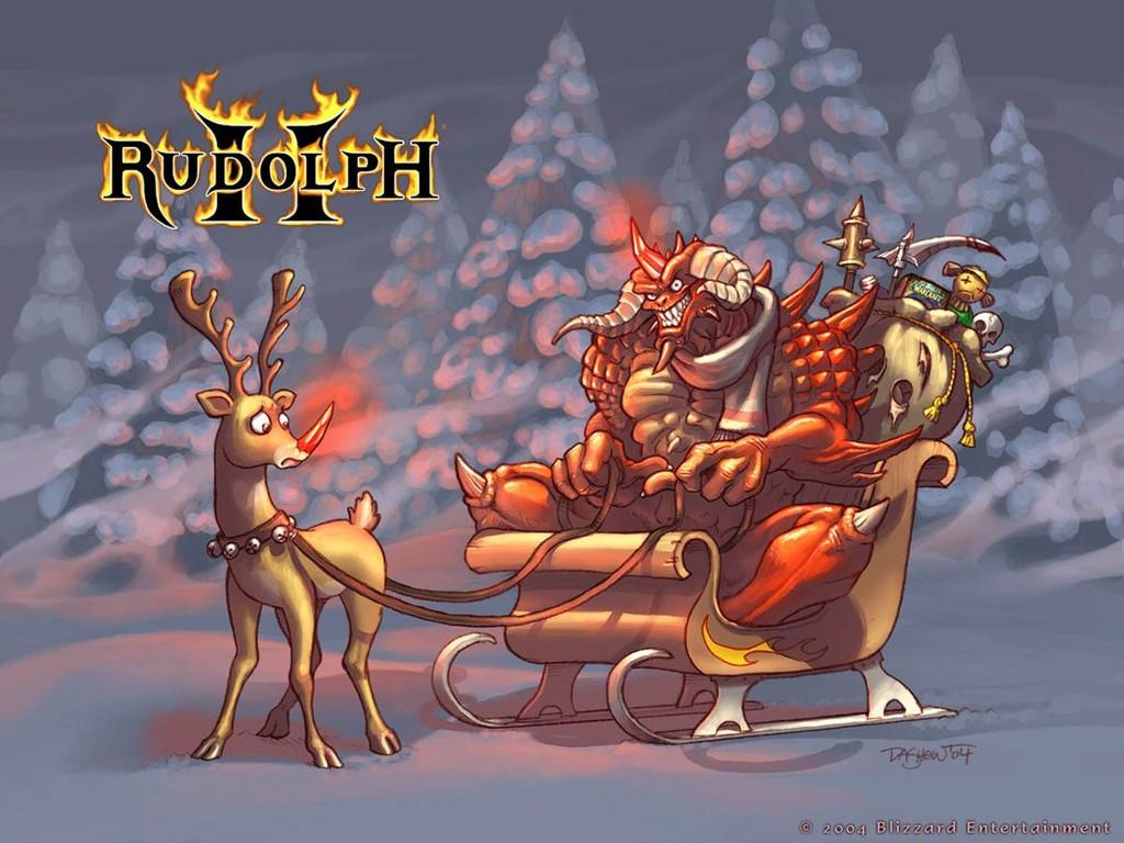 Games Wallpaper: Diablo II - Christmas