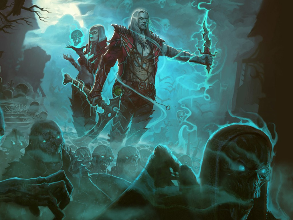 Games Wallpaper: Diablo III - Necromancer