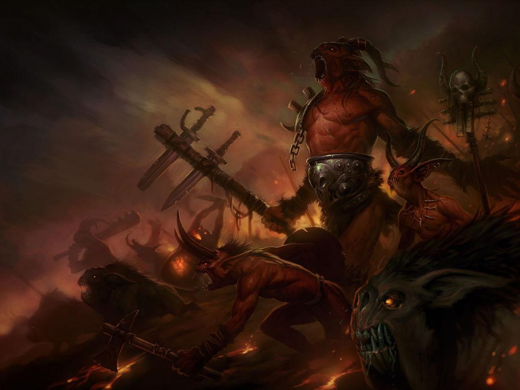 Games Wallpaper: Diablo 3 - The Fallen Ones