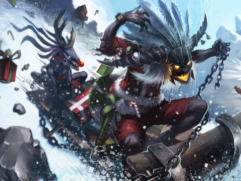 Games Wallpaper: Diablo III - Xmas