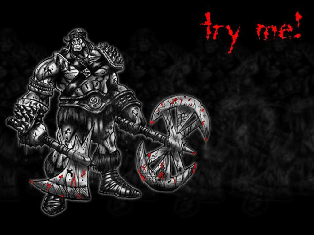 Games Wallpaper: Diablo 2 - Barbarian