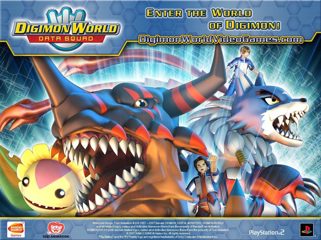 Games Wallpaper: Digimon World