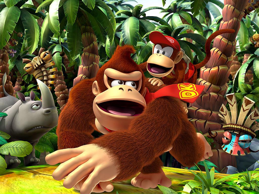 Games Wallpaper: Donkey Kong