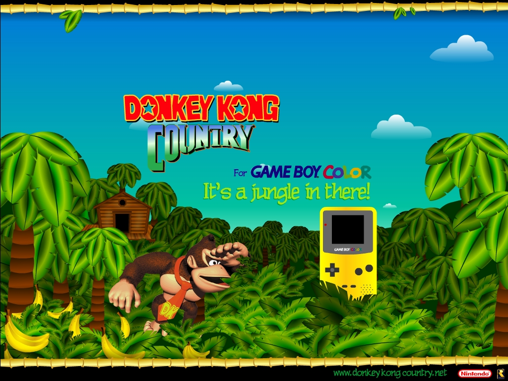 Games Wallpaper: Donkey Kong Country