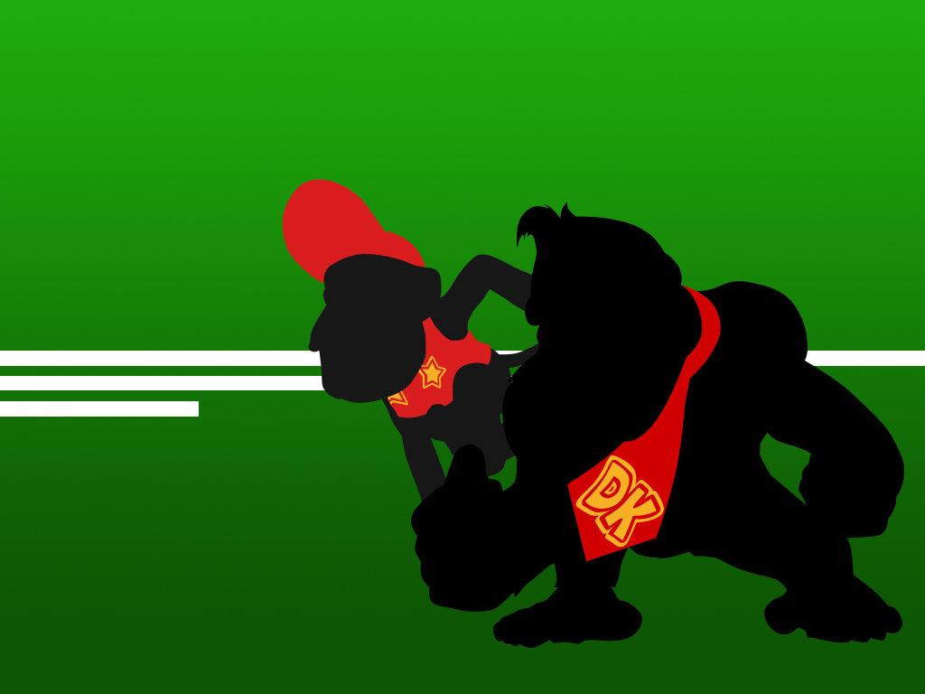 Games Wallpaper: Donkey Kong Jr.