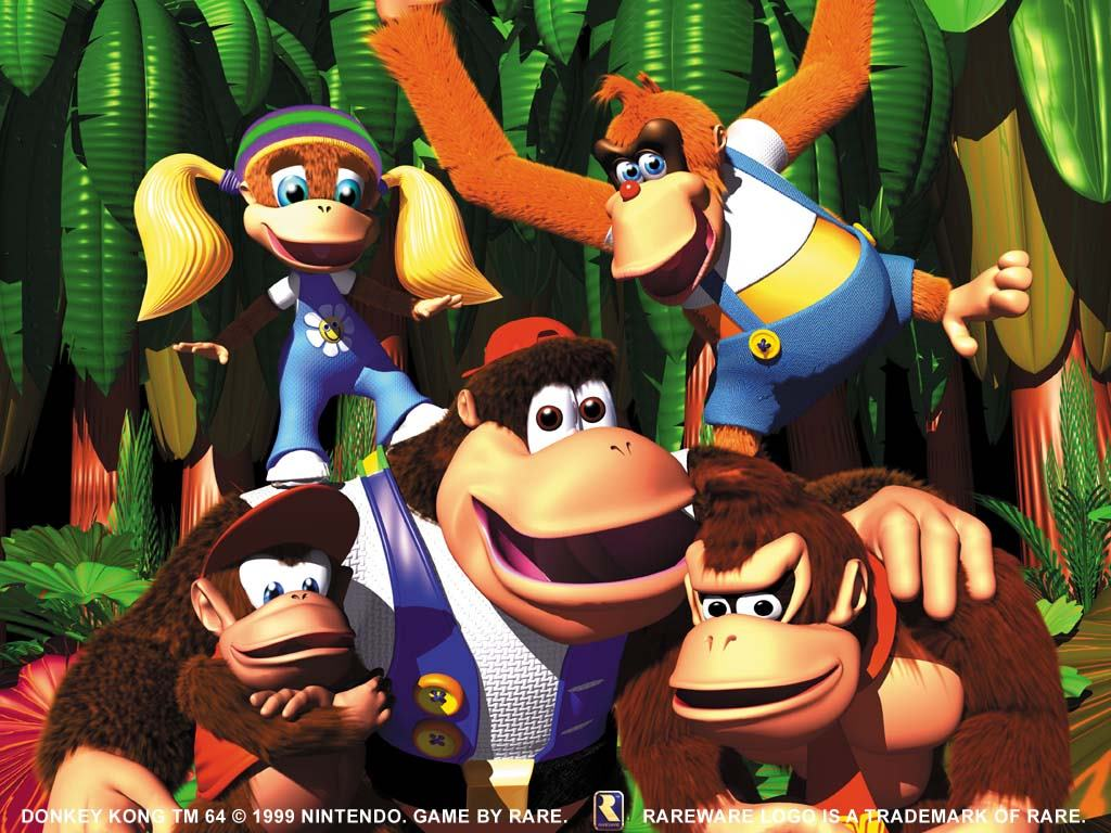 Games Wallpaper: Donkey Kong