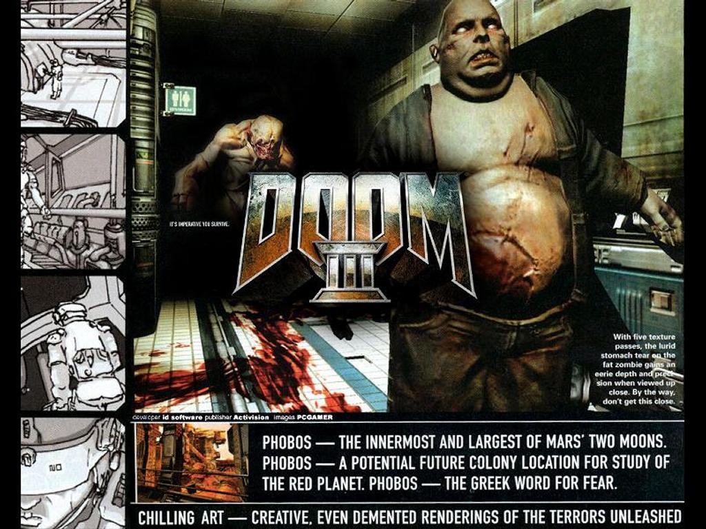 Games Wallpaper: Doom 3