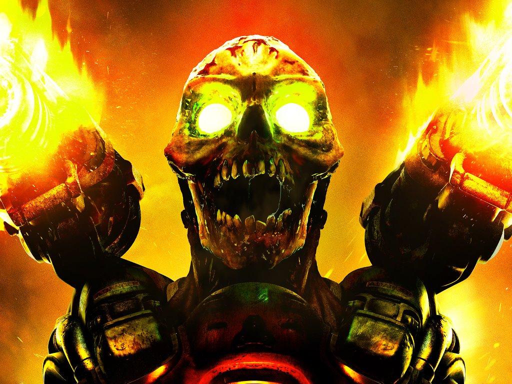 Games Wallpaper: Doom (2016)